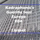 Guerilla tour #04 - sGravenzande / Holland - Liveset