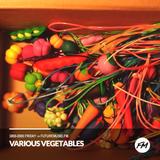 Various Vegetables Radio #59   MSH3005 Label Special
