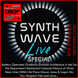 D.E.F. Radio 27th March 2017 -  Synth Wave Live Special