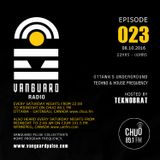 VANGUARD RADIO Episode 023 with TEKNOBRAT - 2016-10-8th CHUO 89.1 FM Ottawa, CANADA