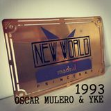 Oscar Mulero & Yke - Live @ New World, Madrid (1993) Ripped Fermin Lado Oskuro (Cassette INEDITO)