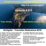 Airdigital - Trancefan Radioshow #278 2016-12-16