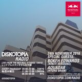 Diskotopia Radio 24th Nov. 2016 w/ Bokeh Edwards & Aquadab