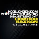 LIONDUB  MEETS SAXXON IN BROOKLYN - 02.04.14 - KOOLLONDON [JUNGLE DRUM & BASS]