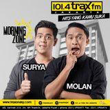 Surya Molan MorningZone TraxFMJKT 1 Agustus 2016