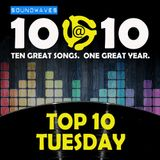 Soundwaves 10@10: #270 - Top 10 Tuesday