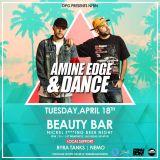 2017.04.18 - Amine Edge & DANCE @ Beauty Bar, Las Vegas, USA