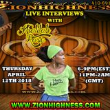 KHALILAH ROSE LIVE INTERVIEW WITH DJ JAMMY ON ZIONHIGHNESS RADIO