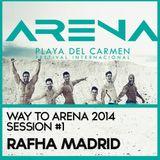 Rafha Madrid - Festival Arena '14 , Playa del Carmen , Mexico