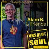 Absolut Soul Show /// 27.11.2019 on SOULPOWERfm