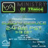 Uplifting Trance - Ministry of TRance Sunday service WK46 Nov 18 2018