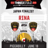 DJ RINA - RedBull Thre3Style - JAPAN FINAL - 2016