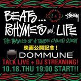 ATCQ BEATS… RHYMES AND LIFE_ 2012_10_18 mixed by DJ DAISHIZEN@DOMMUNE