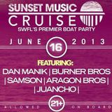 LIVE from the Sunset Music Cruise (6/16/13) *DEEP HOUSE*