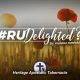 10-3-18 #RUDelighted - Sis. Karistan Hatfield