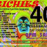 CHE @ RICHIES 40TH