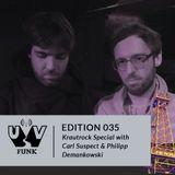 UV Funk 035: Krautrock Special with Carl Suspect & Philipp Demankowski