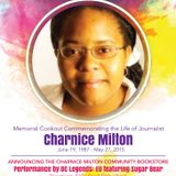 Charnice Milton Community Bookstore Memorial