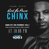 New NY on Power 105.1 Sunday, May 17, 2015 - RIP Chinx