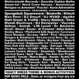 DJ Smurf @ Bangface Weekender 2016. Pontins. Southport, England - 14/04/2016