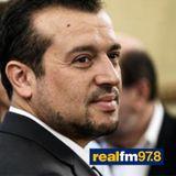 Συνέντευξη του Υπουργού Επικρατείας, Νίκου Παππά, Στον Ρ/Σ «REAL FM» με τον Νίκο Χατζηνικολάου.