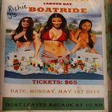 Pauli & Nelcia's Boat Ride May 1st Live Audio DJ Costo