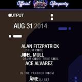 E-Zoo Afterparty :: Ace Alvarez @ Output :: August 2014