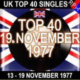 UK TOP 40 : 13 - 19 NOVEMBER 1977