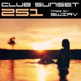 Swirv - Club Sunset Episode 251