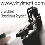 Vinyl Matt 92 Mix Part Two