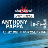 Anthony Pappa - Live at Darkbeat Day Rave, The Railway Hotel, Brunswick, Australia (02-10-2015)
