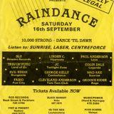 Slipmatt - My 24 Years With Raindance Warm Up Mix-September 2013. - Absolute classics from 89 - 91