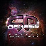 Dhamika LIVE @ Genesis Festival 4-7 July 2013 (Sweden)