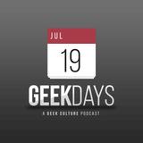 Geekdays #827: Week starting January 21st