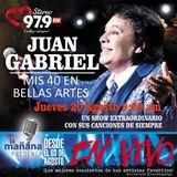 20-08-15 - #LaMañanaPresenta #ENVIVO - #JuanGabriel #Mis40EnBellasArtes