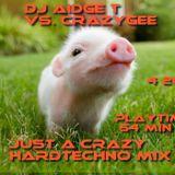 DJ Aidge T vs. crazyGee - Just A Crazy Hardtechno Mix 4 2012 wait 4 mayday