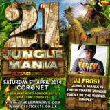 Jumping Jack Frost & Brockie - Det & Skibadee.. LIVE AT 21 Yrs of JUNGLEMANIA