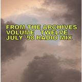 From The Archives Vol. 12 - July 98 Radio Mix