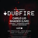Carlo Lio - Live @ SCI-TEC Kalypso Club Zrce Beach (Croatia) 2014.08.11.