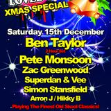 Zac Greenwood - LOVED UP - XMAS Special (15th Dec 2012)