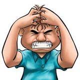 Expression of exaspiration