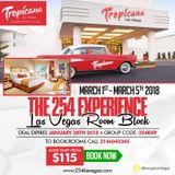 The 2018 254 Las Vegas Experience | Get your rooms
