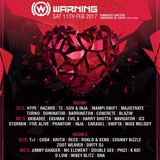 Turno @ Warning (11-2-2017)
