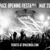 Hector - Live At Space Opening Fiesta (Ibiza) - 25-May-2014