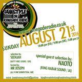 Jamstyle on Renegade Radio (August, 2016): SeenJah (Natty Vibes) + Mr. Joseph & Naoto (King Harar)