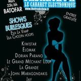 Kiwistar Live @ Freakshow Le Batofar 22 Mars 2012