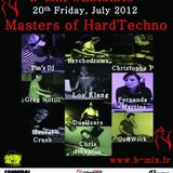 Pim's DJ presents MENTAL CRUSH (Cannibal Society) - Masters Of HardTechno (20/07/12)