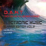 D.A.N.T. - Electronic Music Summer edition vol.2 (Tech House) club mix liveset 16.08.2017