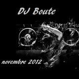 DJ Boute mix novembre 2012