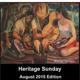 Heritage Sunday (Filipiñana-World) - August 2015 edition